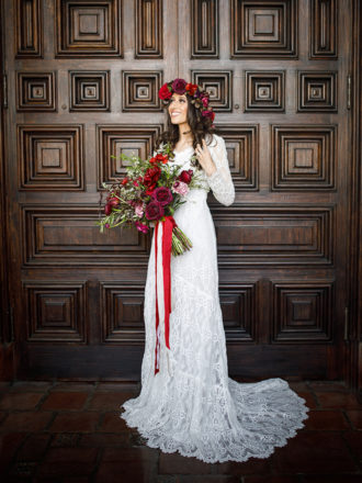 Real Santa Barbara Elopements | Santa Barbara Courthouse