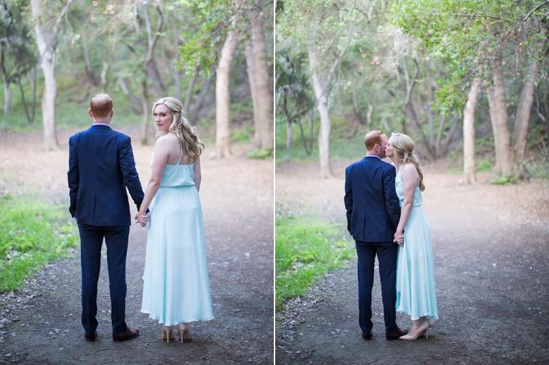 A Modern and Stylish Engagement at Nojoqui Falls.