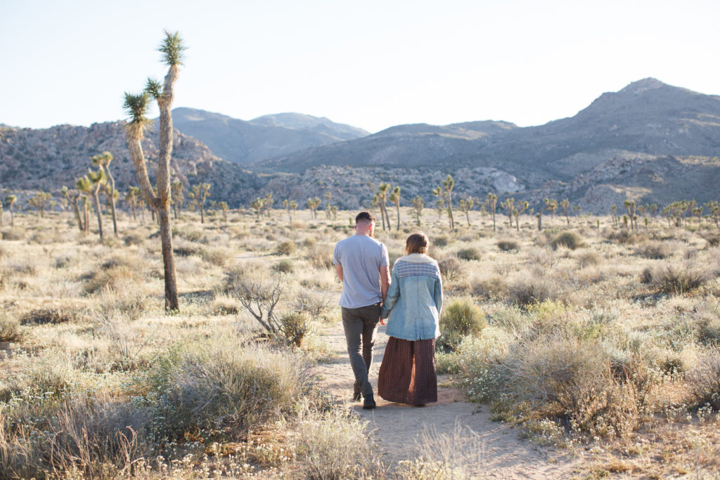 Jean Jacket boho vibes in the desert Joshua Tree