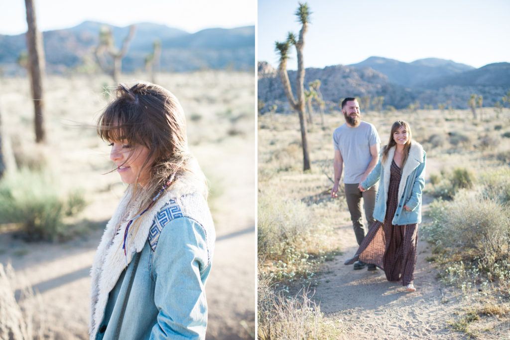 Jean Jacket boho vibes in Joshua Tree