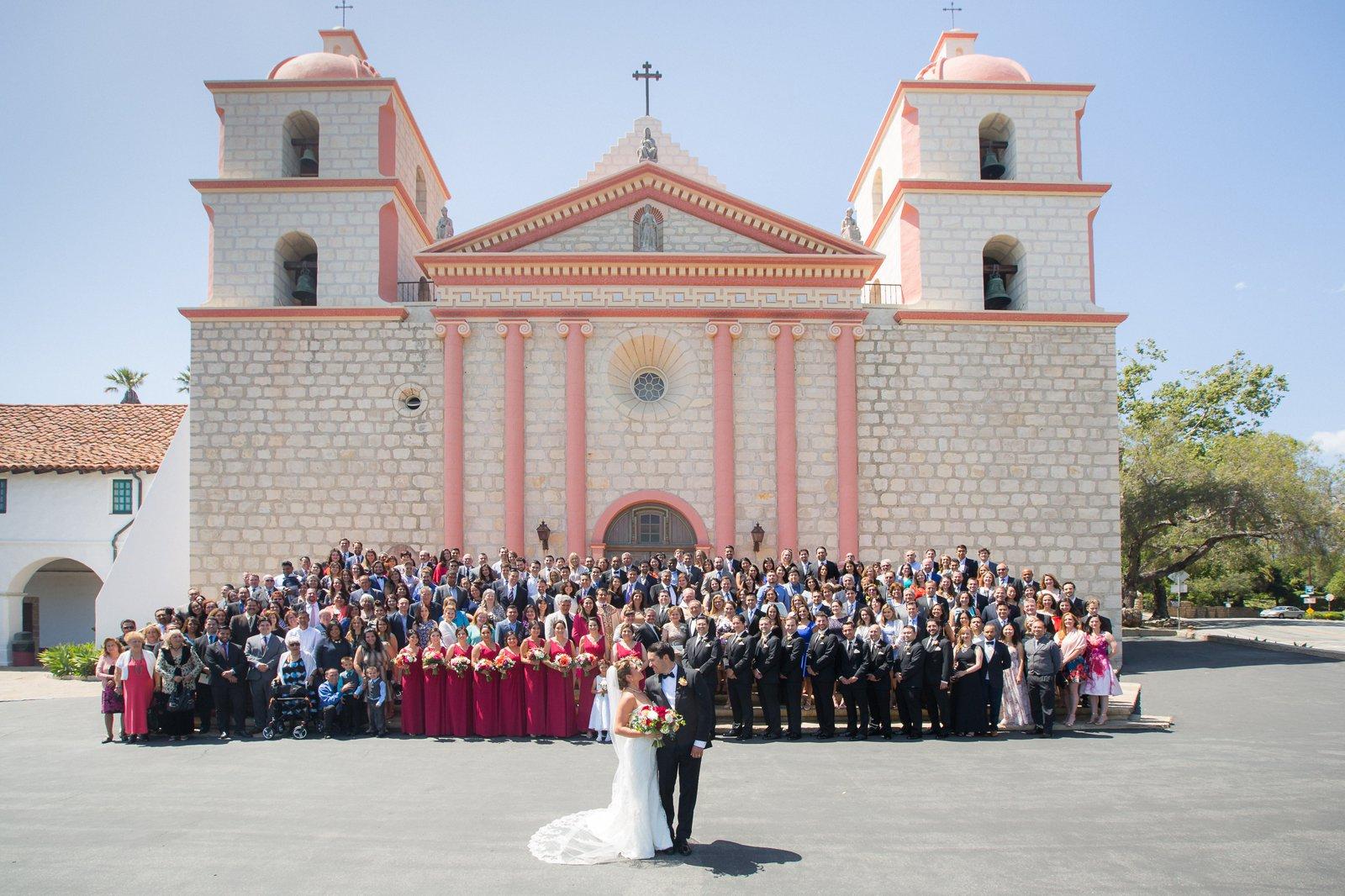 Santa Barbara Mission Wedding photographer