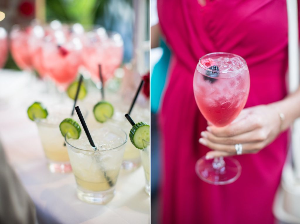 cocktail inspiration for Santa Barbara Mission wedding