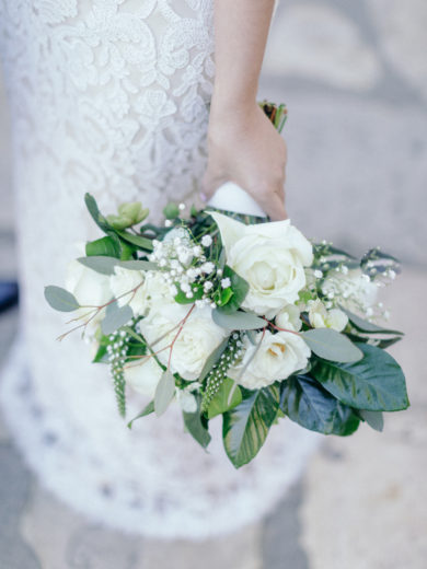 Wedding Photographers Santa Barbara • Bride's Bouquet