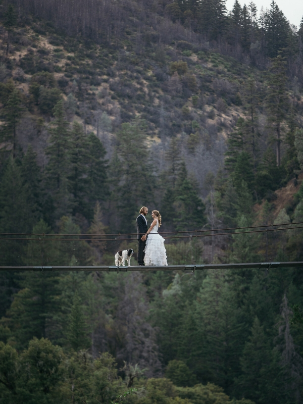 Trinity Alps Wedding in Northern California