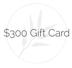$300 Gift Credit
