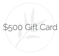$500 Gift Credit