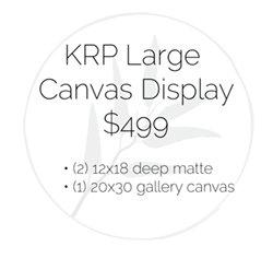 KRP Large Canvas Display