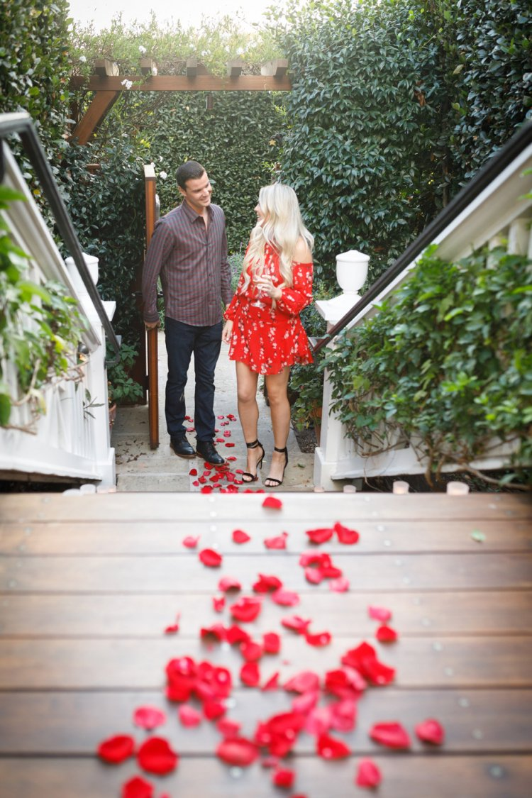 San Ysidro Ranch Proposal - Kiel Rucker Photography